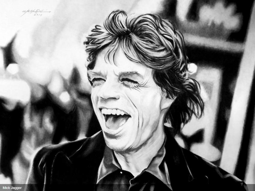 Mick Jagger par PencilPerfect